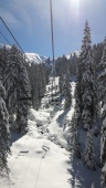 Pierre Longue chair lift in Chatel area of Portes du Soleil