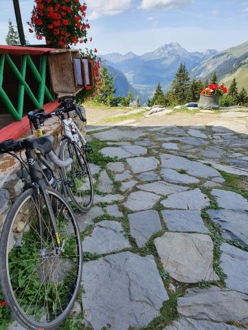 View from Col de Bassachaux, via bicycle