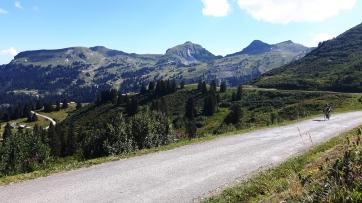 Cycling the Col de Bassachaux
