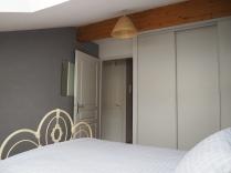 Main bedroom with plenty of storage